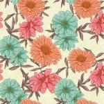 Постер, плакат: Floral repeating background
