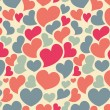 Valentine seamless pattern — Stock Vector #8386094