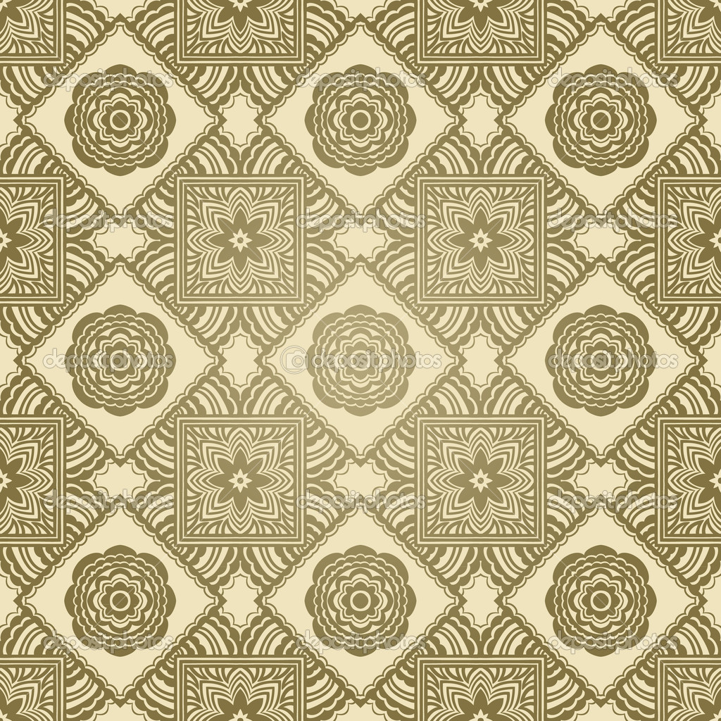 vintage repeating wallpaper - photo #1