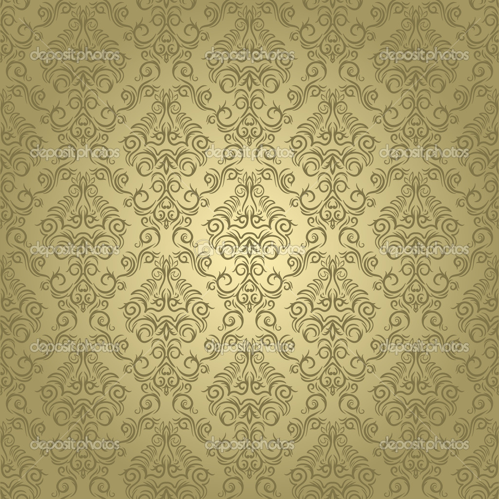 Damask seamless wallpaper on light  background. Stylish and luxury  Stock Vector #8518109