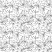 Floral seamless wallpaper — Stock vektor