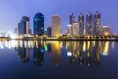 Bangkok Night time — Stock Photo