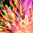 Stock Photo: Firework bokeh light