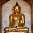 Buddha image, Dhammayangyi Temple — Stock Photo