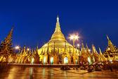 Shwedagon pagoda — Stock Photo