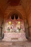 Buddha image, Dhammayangyi Temple — Stock Photo