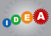 La idea nació — Vector de stock