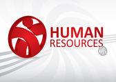 Human resource concept — Stock Vector