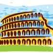 Colosseum — Stock Vector
