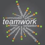 Teamworks concep — Stock Vector #9985543