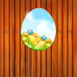 Background of Easter — Stock Vector