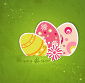Easter holiday background — Stock Vector