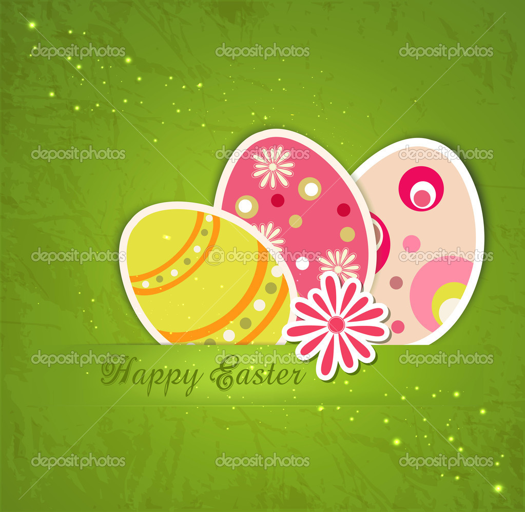 Easter holiday background — Stock Vector #8407518