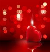 Romantic backdrop for Valentine — Stock Vector
