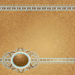 Vintage, ornate background — Stock Vector