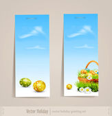 Easter holiday set — Vector de stock