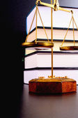 Scales of justice — Stock Photo