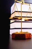 Balança da justiça — Fotografia Stock