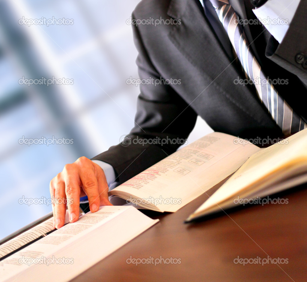 Businessman working — Stock Photo #8230119
