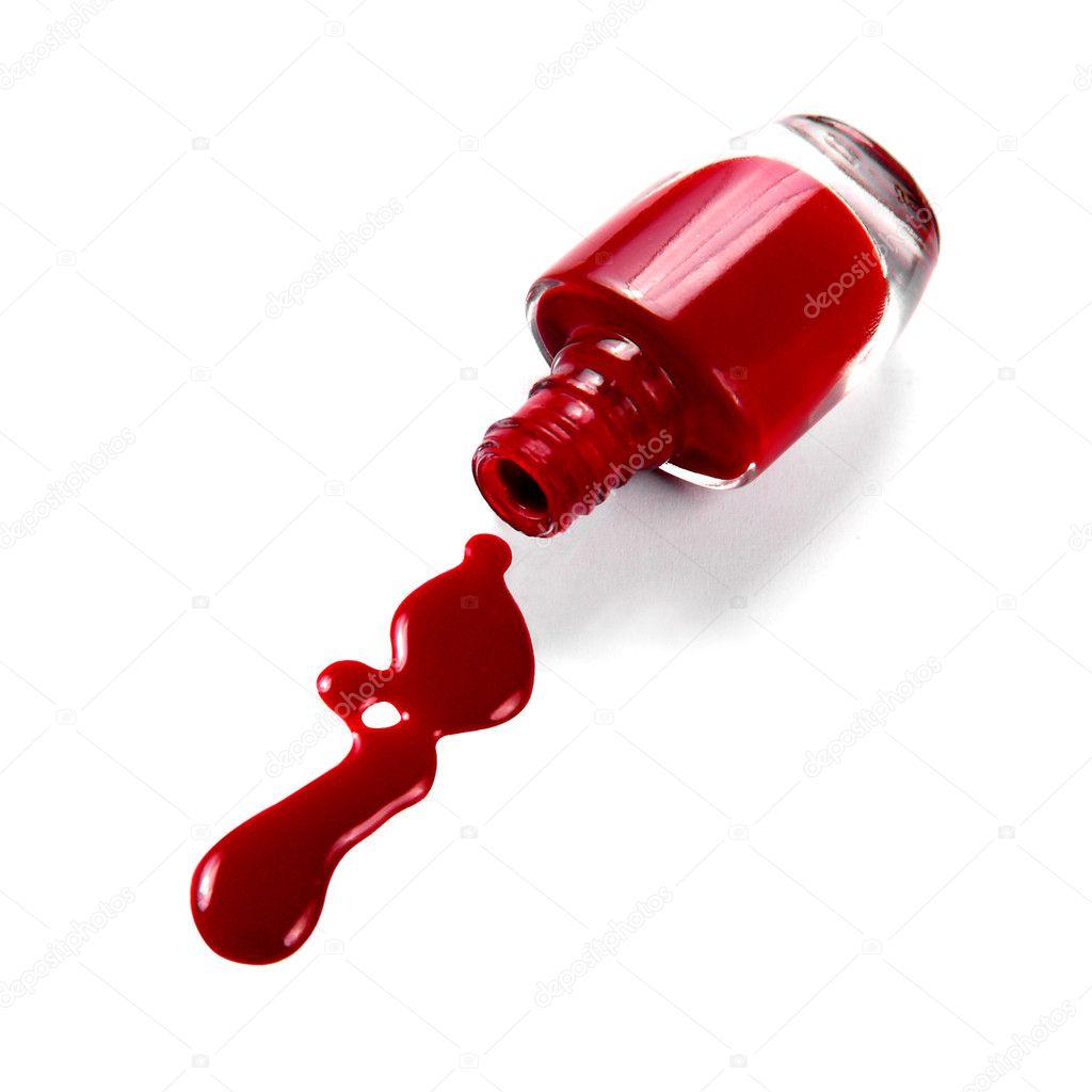 Spilled Nail Polish: Stock Photo © EmiliaU #8230190