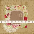 Royalty-Free Stock Vector Image: Scrapbook Design Elements - Vintage Flowers in vector
