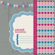 Royalty-Free Stock Vector Image: Scrapbook Design Elements - Beautiful Page for your birthday, co