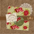 Scrapbook Design Elements - Vintage Flowers and Frames in vector - Grafika wektorowa
