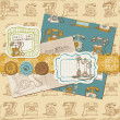 Royalty-Free Stock Vector Image: Scrapbook Design Elements - Vintage Telephones in vector