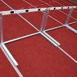 Hurdles Athletic Stadion - 2 — Stock Photo #8107367