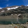 Panorama Mountain Lake — Stock Photo