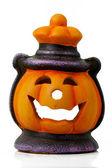 Lanterna di halloween isolato — Foto Stock