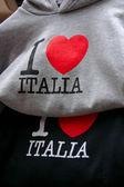 Ik hou van italia truien — Stockfoto