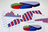 Financial Management Chart - 7 — Stock Photo