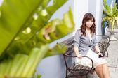 Portrait asian woman — Stock Photo