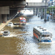 Stock Photo: Massive flooding in Bangkok.