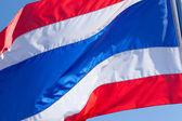 Thajská vlajka. — Stock fotografie