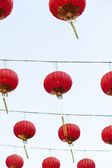 Red lanterns. — Stockfoto