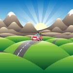 Landscape joyride — Stock Vector #10348615