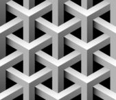 3d padrão sem costura industrial — Vetorial Stock