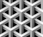 Modèle sans soudure industriel 3d — Vecteur