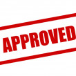 Royalty-Free Stock Photo: Approved