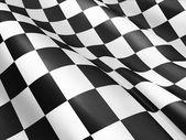 Checkered flag — Stock Photo