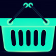 Shopping basket - Foto Stock