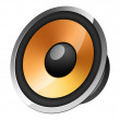 Royalty-Free Stock Photo: Speaker icon
