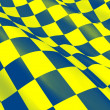 Checkered - flag - Stock Photo