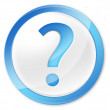 Stock Photo: Question mark icon