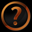 Question mark icon — Stock Photo #10580507