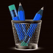 Pencils icon — Stock Photo