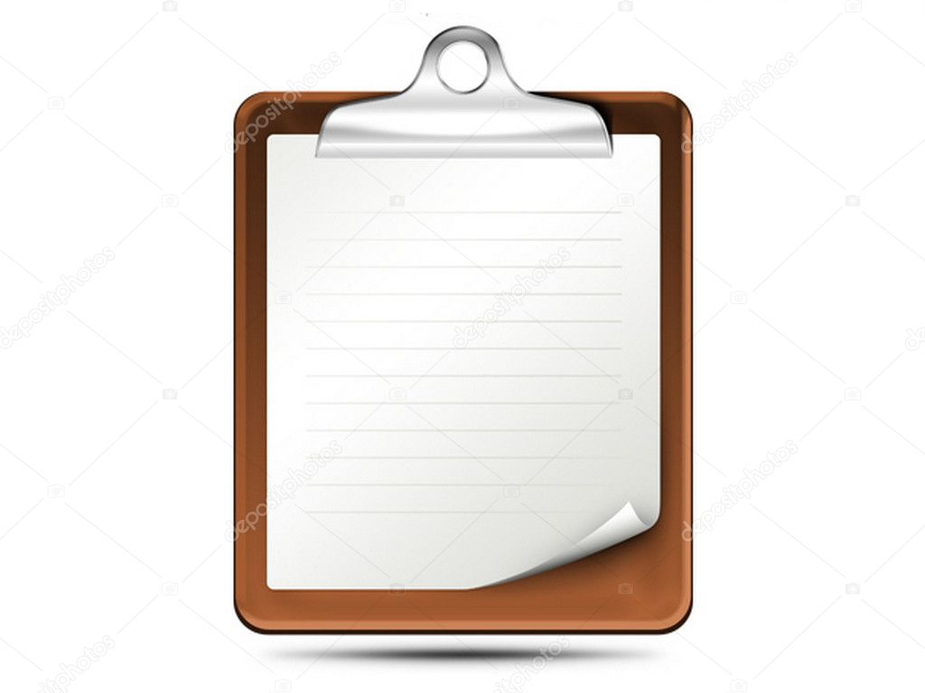 Clipboard icon — Stock Photo #10727316