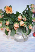 Wilted roses — Stock Photo